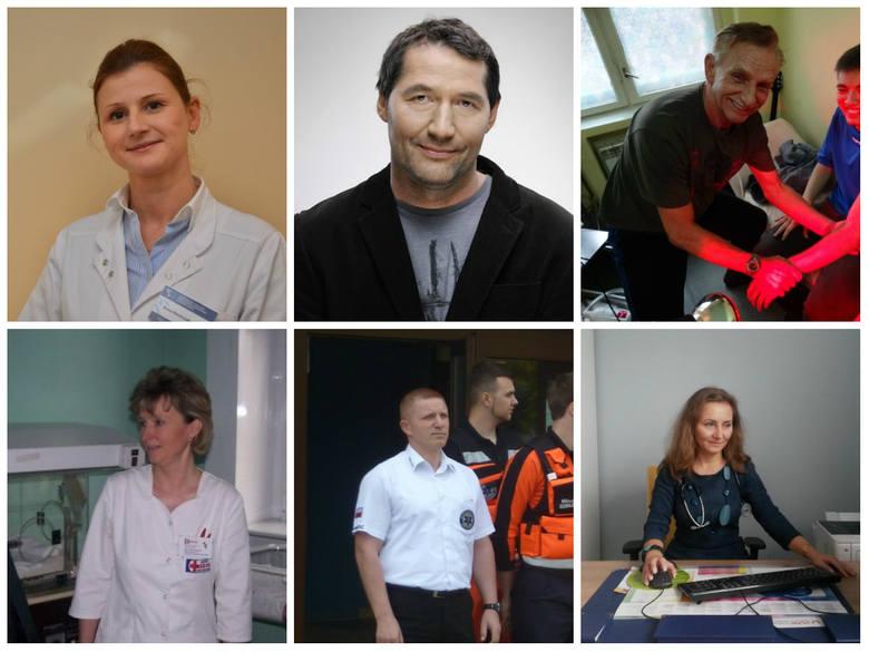 Górny rząd od lewej strony: Anna Niechciałkowska, Prof. Tomasz Banasiewicz, Andrzej Ratusiński. Rząd dolny: Anita Świątek, Damian Garlicki, Anna Maria