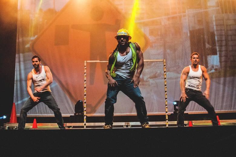 Chippendales – legendarni chłopcy prosto z USA - wystąpili w piątkowy wieczór w Azoty Arenie z najnowszym projektem Break the rules.