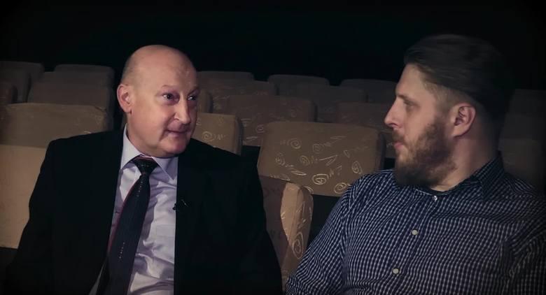 """Kadr z filmu """"Archikosmos"""" Marcina Zasady i Marcina Nowaka"""