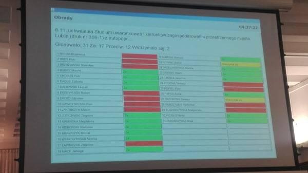 Rada Miasta Lublin. Nadzwyczajna sesja w sprawie górek czechowskich i absolutorium dla prezydenta