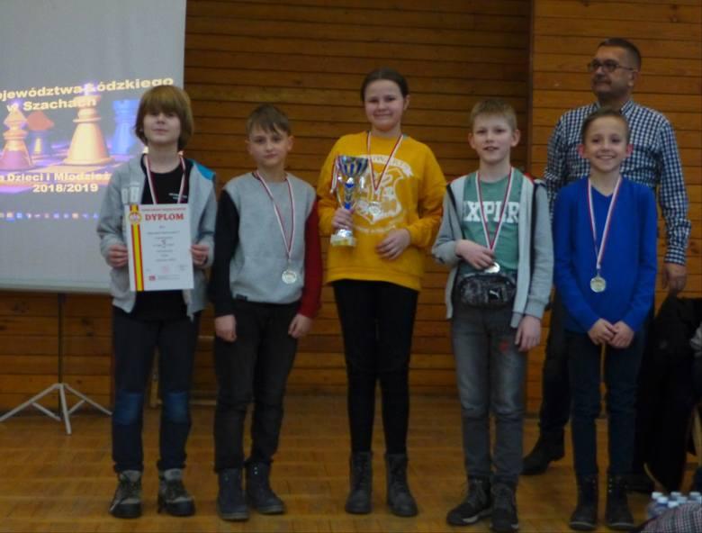 Kolejne sukcesy szachistów ze Szkoły Podstawowej nr 5 ze Skierniewic