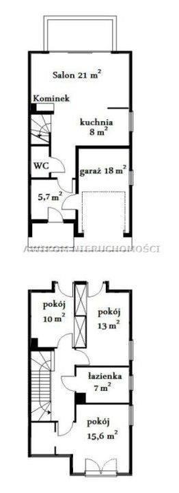 <strong>16. Dom za 370 000,00 zł <br /> 2 915,68 zł/m2 </strong><br /> <br /> Dom jest zlokalizowany w niewielkiej odległości od centrum miasta przy drodze asfaltowej w drugiej linii zabudowy z udziałem w drodze dojazdowej. Idealny dom dla młodej rodziny. Na zdjęciu rysunek przykładowo wykończenia...