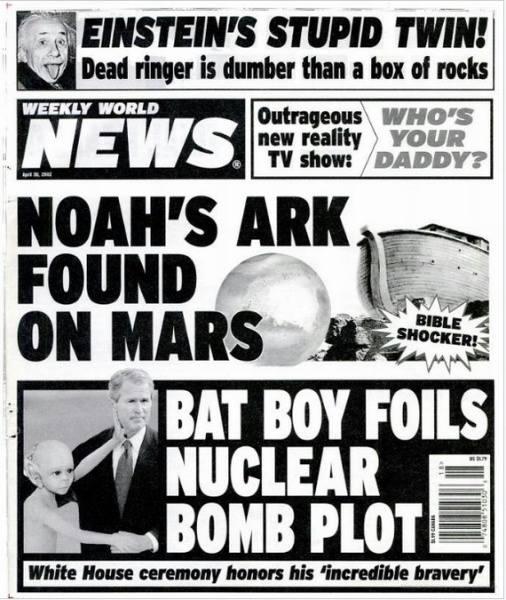 """Arka Noego odnaleziona na Marsie!"""