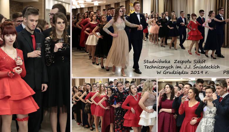 W hotelu Rudnik na balu studniówkowym bawili się maturzyści z Zespołu Szkół Technicznych im. J. J. Śniadeckich z Grudziądza. Muzycznie zabezpieczał DJ