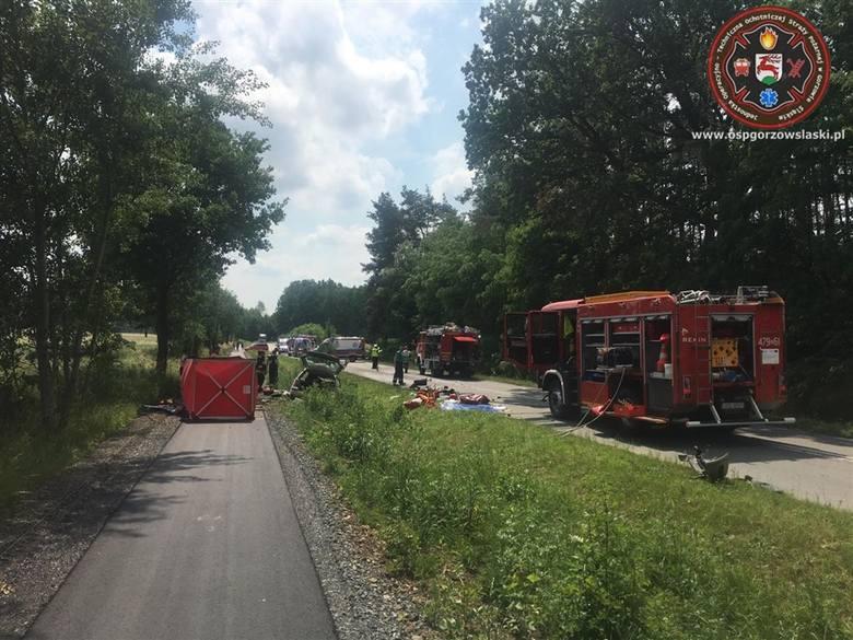 Tragiczny wypadek w Kozłowicach.