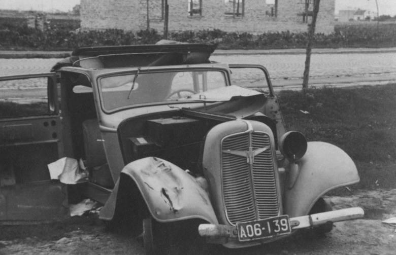 5. wrzesień 1939, na ulicy w Skierniewicach