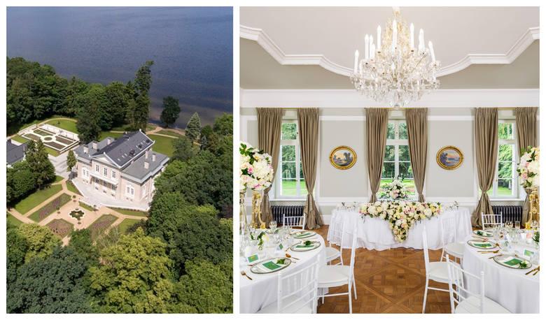 Pałac pod Szczecinem wybrany najlepszym miejscem na wesela w Europie. Zobacz zdjęcia