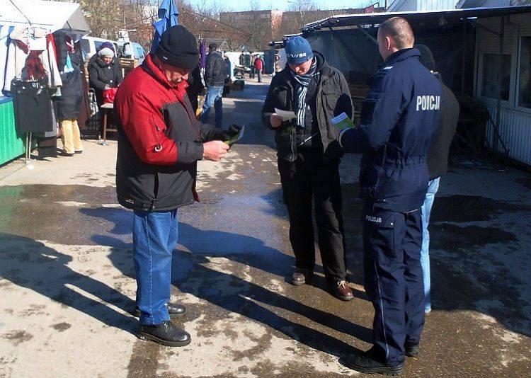 Policyjna akcja Nie daj się zrobić w jajo (zdjęcia)