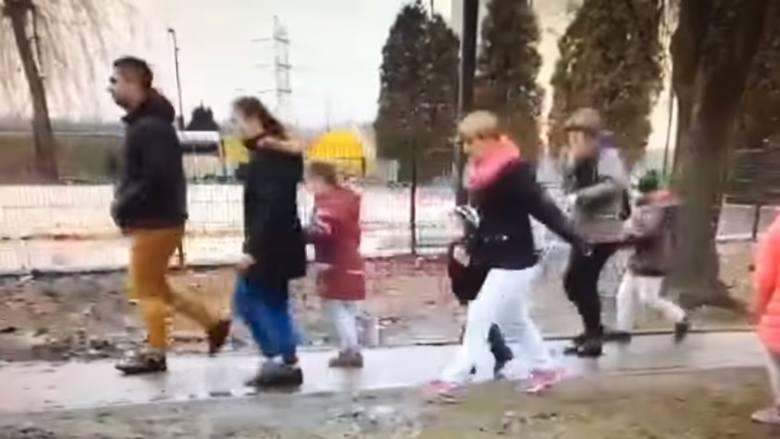 Dorośli zepsuli zabawę dzieciom. Wyrywali sobie czekoladowe jajka