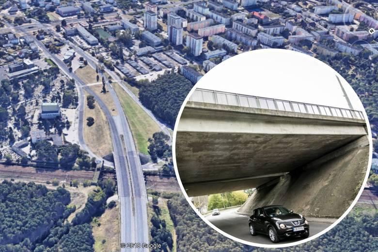 ZDMiKP w Bydgoszczy szuka wykonawcy, który przeprowadzi modernizację wiaduktu w ciągu al. Armii Krajowej (w kierunku do Gdańska). Wiadukt jest w złym