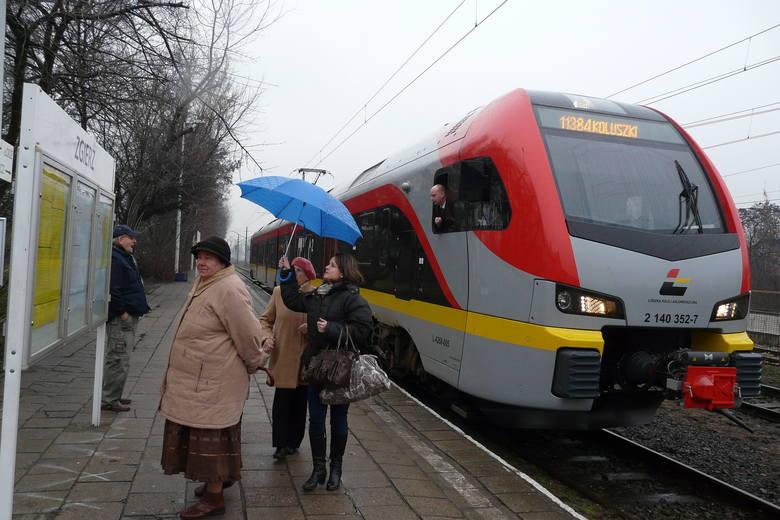 Rośnie liczba pasażerów Łódzkiej Kolei Aglomeracyjnej. W 2019 roku spółka przewiozła ich 6 milionów!