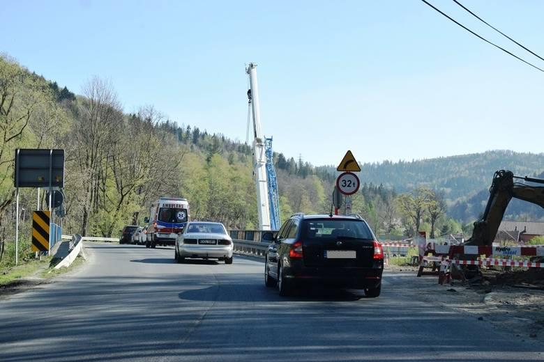 Remont drogi DW 941 do Wisły ma trwać trzy lata, a już wiosną 2019 mówi się, że będą opóźnienia