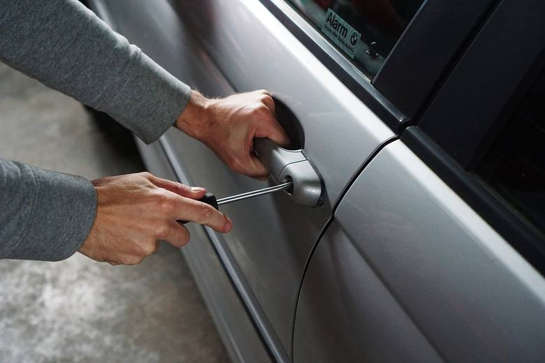 kradzieże samochodów, kradzież, samochód, metody złodziei, lubuskie