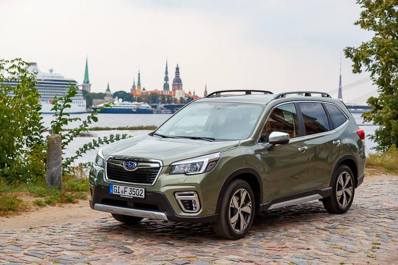 """Pierwsza jazda nowym Subaru. Forester e-BOXER - czas """"Leśnika"""" [ZDJĘCIA]"""