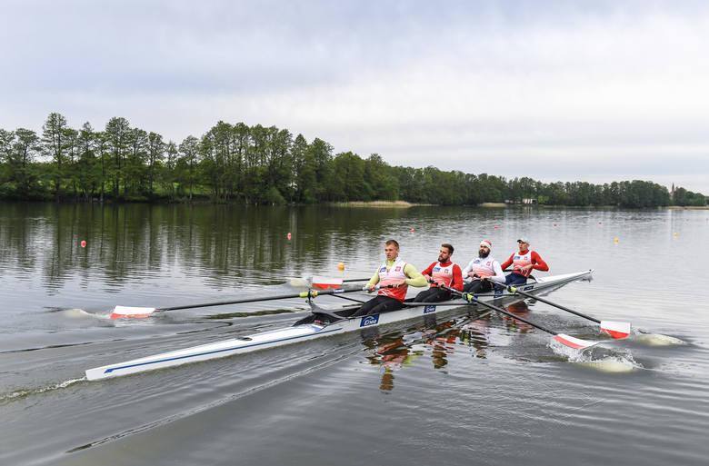 Wioślarscy mistrzowie świata wrócili na wodę w ośrodku COS w Wałczu