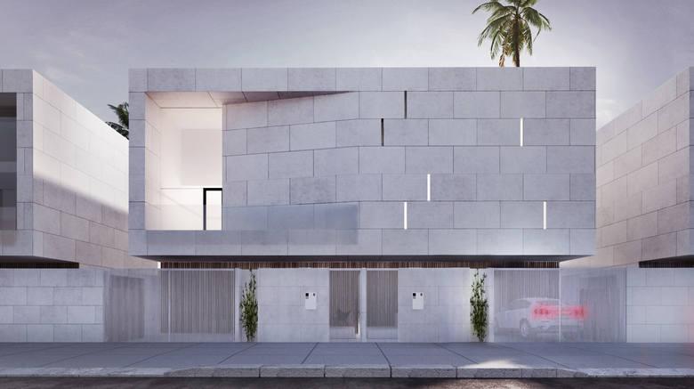 Jedna z rezydencji w Arabii Saudyjskiej, którą zaprojektowali architekci z Łodzi