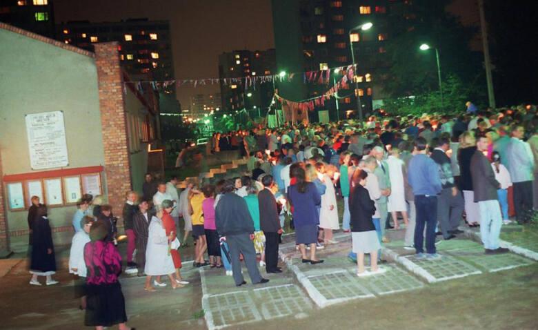 Przeniesienie obrazu Matki Boskiej Jasnogórskiej do nowej świątyni, 1 wrzesień 1996 rok