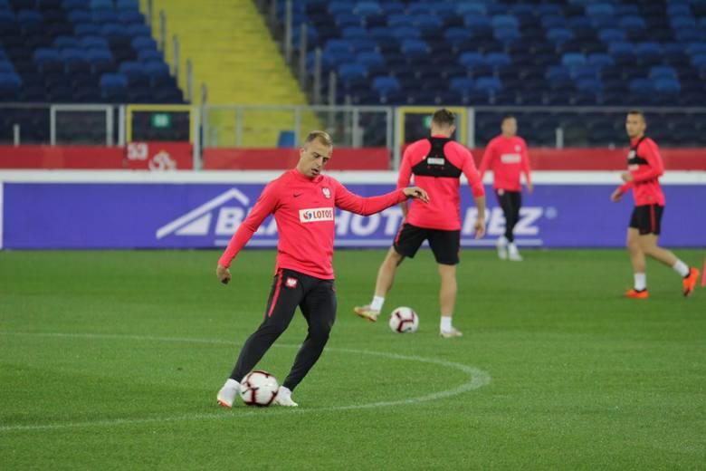 Trening reprezentacji Polski przed meczem Polska - Portugalia
