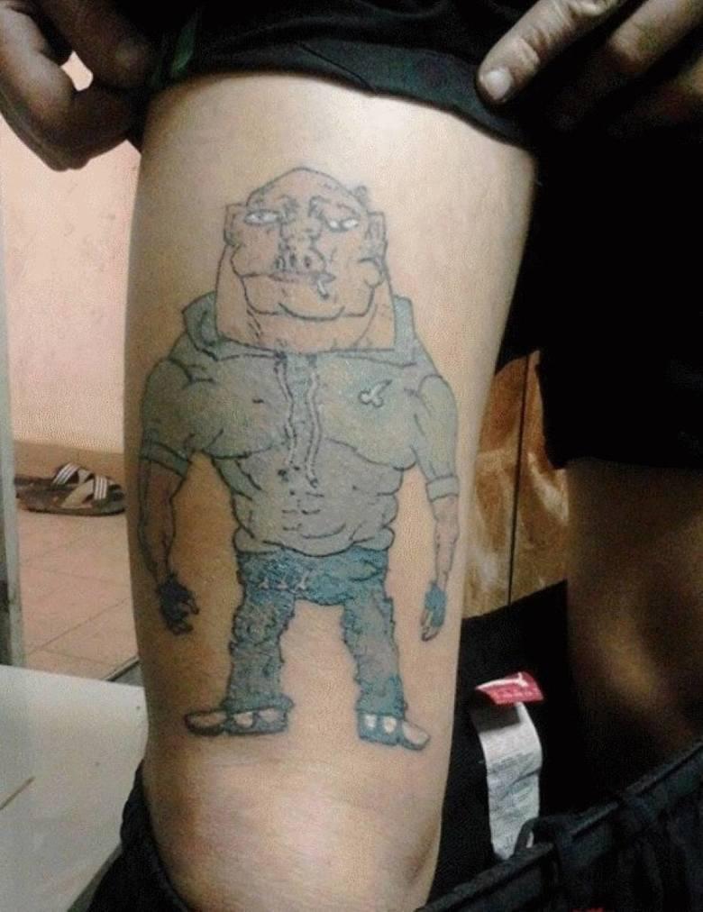Janusze Tatuażu Zobacz Najgorsze Tatuaże Galeria