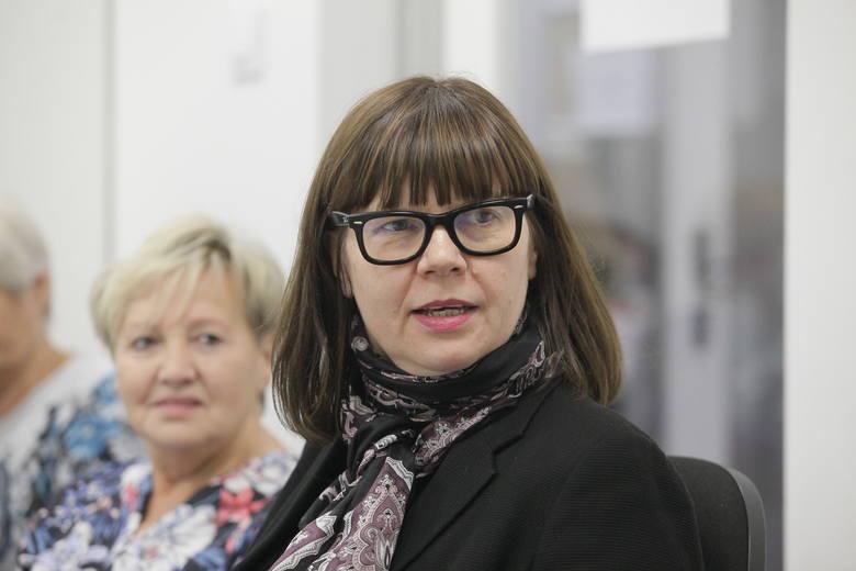 Wolontariuszy wspiera Celina Maciejewska