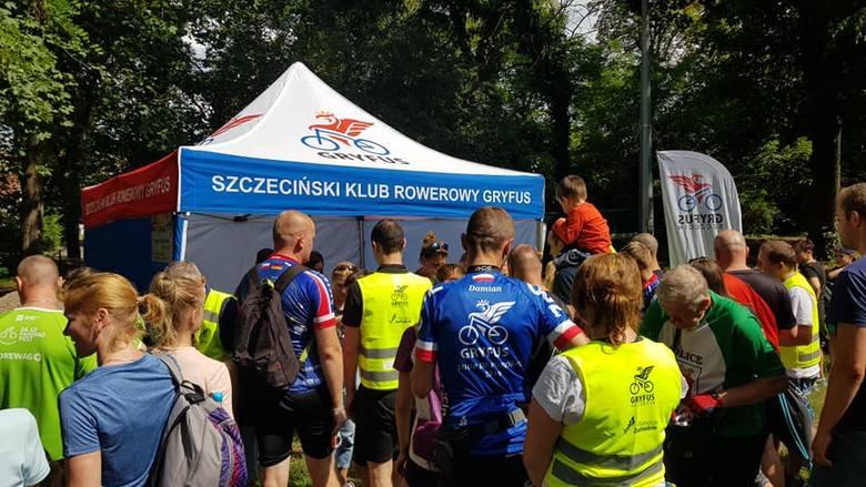 180 uczestników rodzinnego rajdu rowerowego w Szczecinie [ZDJĘCIA]