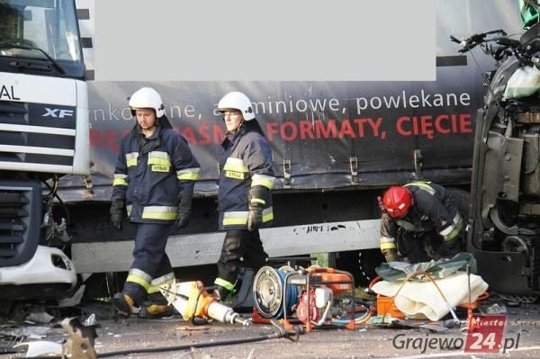 W wypadku ucierpiały trzy osoby.