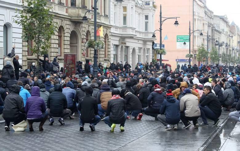 19.10 - 19.10. Kibice Widzewa chcą zorganizować przemarsz przez centrum Łodzi. Spod Centralu na stadion