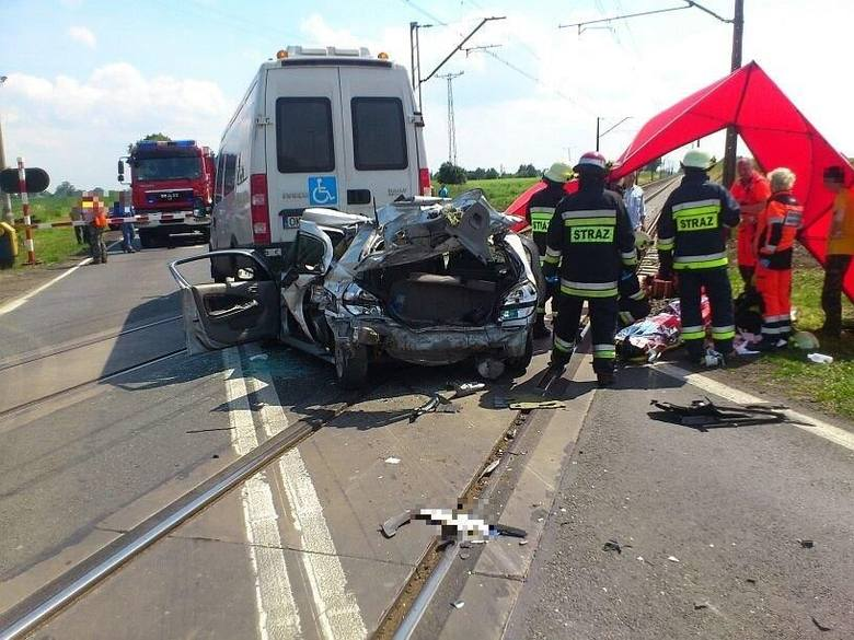 Cztery osoby ranne w wypadku pod Kluczborkiem