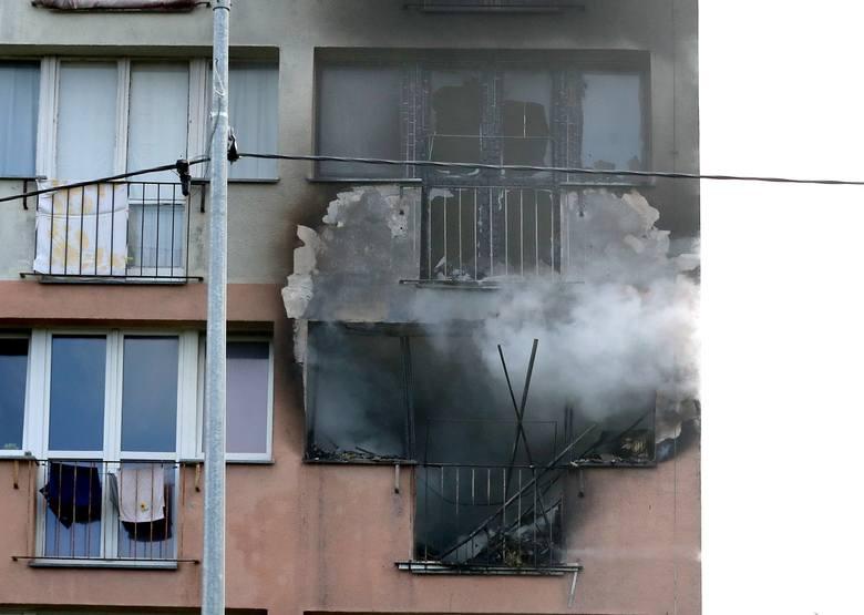 Wybuch gazu przy ul. Ofiar Oświęcimia w Szczecinie. Osiem osób poszkodowanych [wideo, zdjęcia]