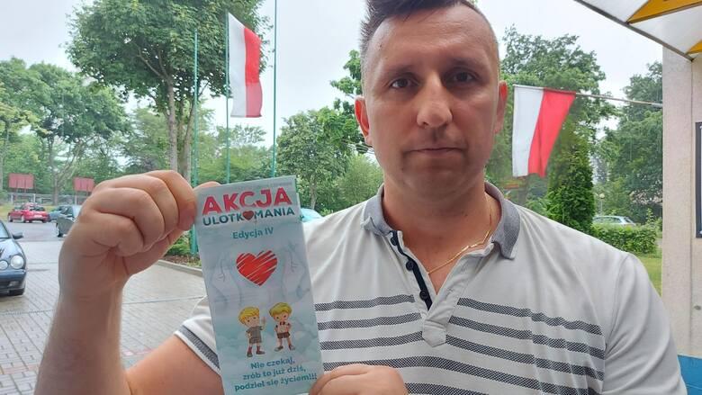 To już czwarta edycja akcji Ulotkomania - mówi prezes Stowarzyszenia Rafała Jaszczyńskiego Rafał Jaszczyński