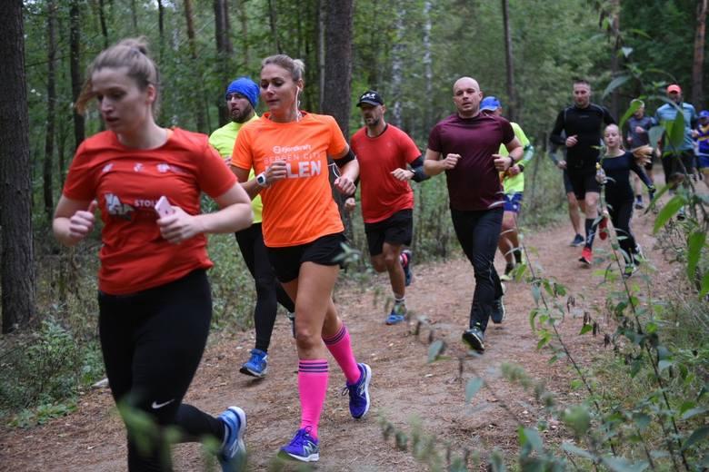 Jak co tydzień, również dzisiaj (21.09) biegacze z Torunia spotkali się, by pokonać pięciokilometrową trasę. Tym razem trasa biegu przebiegała przez