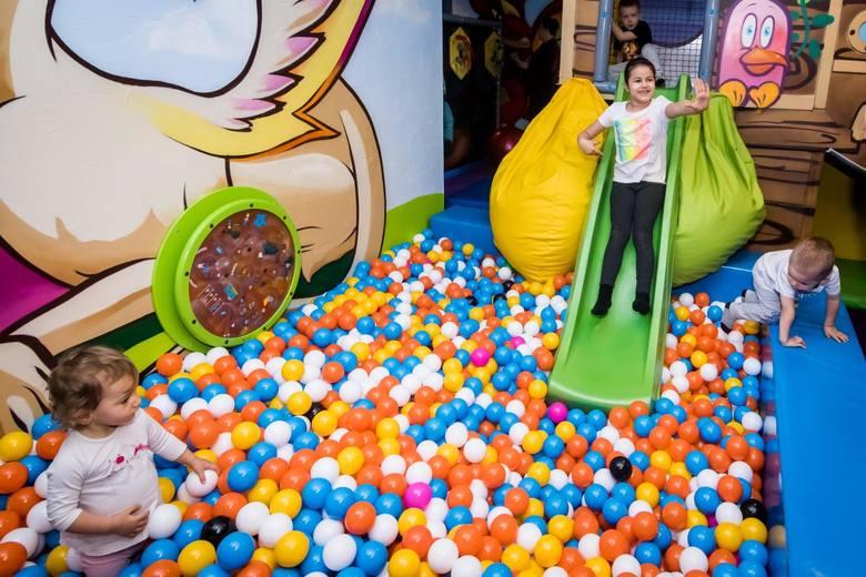 Sala Zabaw Złoty Smoczek otwarta w galeri BCF przy Gdańskiej