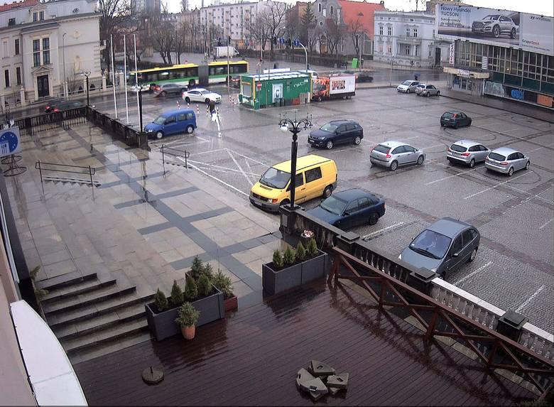 Obraz z kamery przy Centrum Biznesu