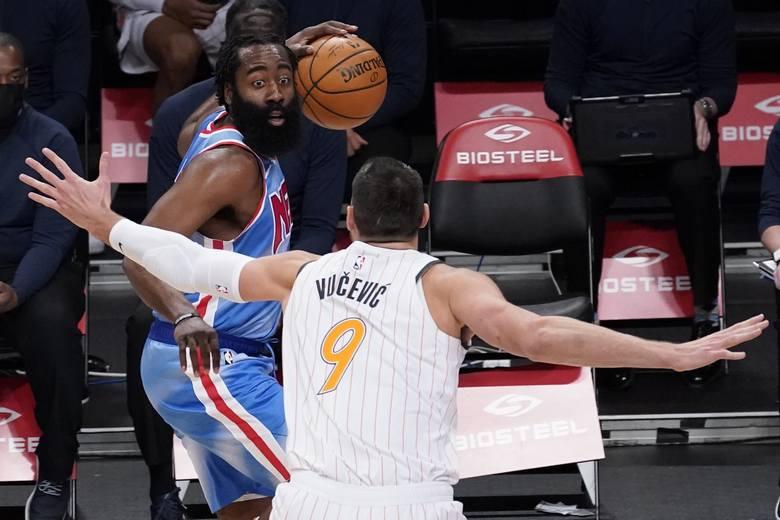 Nowy super-zespół w NBA. Harden zadebiutował w Brooklyn Nets.