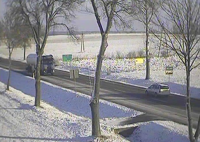 Aktualne warunki drogowe w woj. podlaskim GDDKiA - 26.12.2014 (zdjęcia)