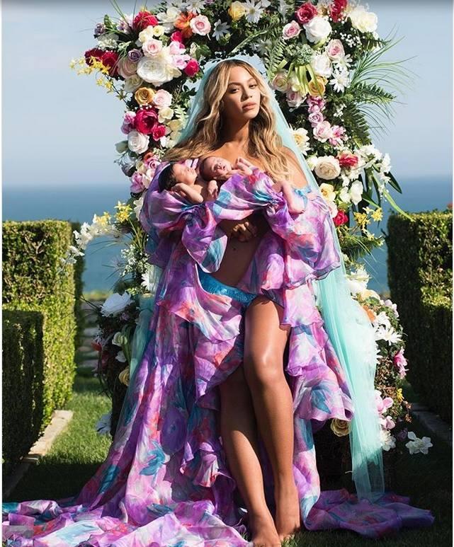 Beyoncé zamieściła pierwsze zdjęcie bliźniaków