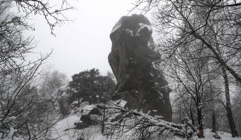 Piękna zima w rezerwacie Prządki między miejscowościami Korczyna i Czarnorzeki w powiecie krośnieńskim. Zobaczcie zdjęcia!Zobacz także: Snowboardem po