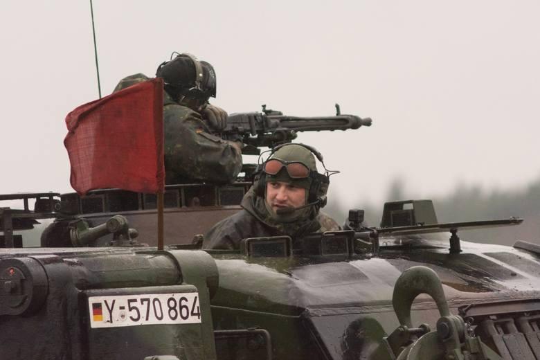 polsko-niemieckie manewry German Detachment 16