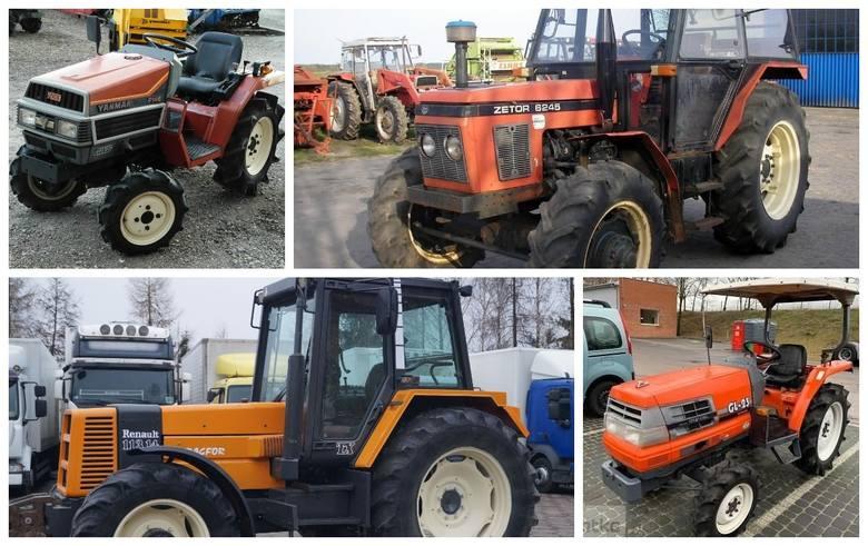 Przygotowaliśmy ponad 30 ofert ciągników rolniczych na sprzedaż z portalu gratka.pl. Przedział cenowy obejmuje maszyny od 7 tysięcy złotych do 39 tysięcy.