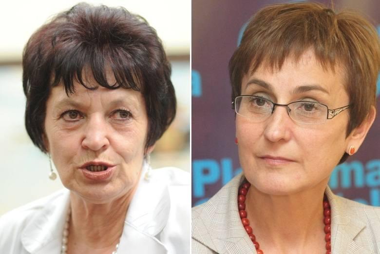 Posłanki Brygida Kolęda-Łabuś (z lewej) i Janina Okrągły weszły w skład Zespołu Parlamentarnego do spraw Piastówanio Ślonskij Godki.