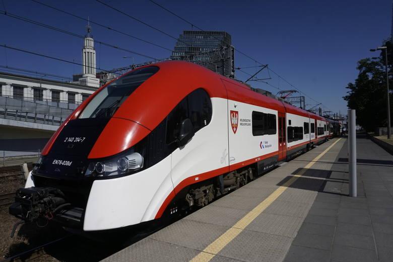 Kursy w ramach kolei metropolitalnej będą obsługiwane przez pociągi Kolei Wielkopolskich