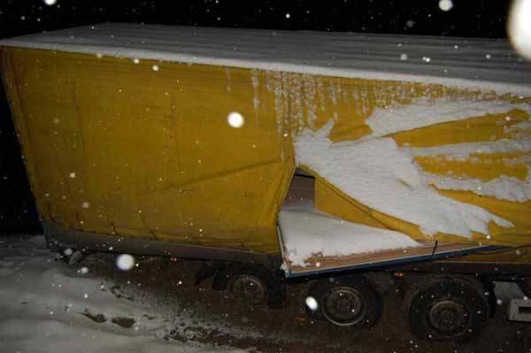 Atak zimy na Podkarpaciu