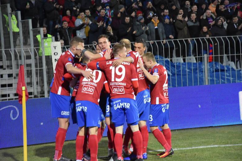 Raków Częstochowa wygrał z Legią w Warszawa 2:1 w Pucharze Polski