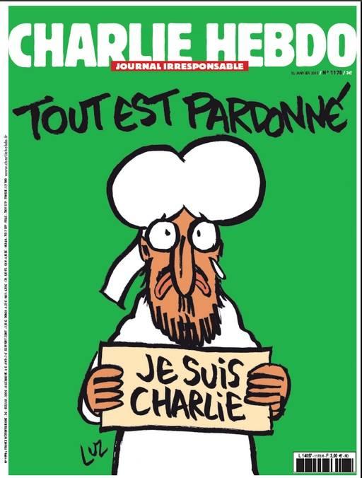 Okładka najnowszego numeru Charlie Hebdo