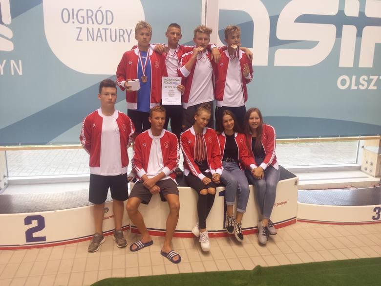 Zespół 14 latków w Olsztynie.