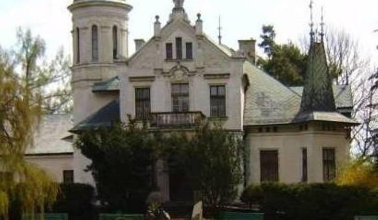 Pałacyk Henryka Sienkiewicza w Oblęgorku.
