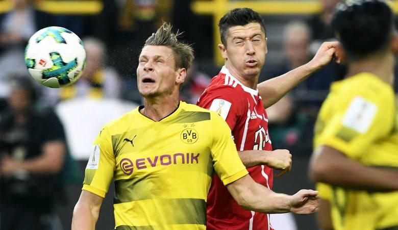 Robert Lewandowski kontra Łukasz Piszczek w Der Klassiker. Bayern - Borussia w hicie Bundesligi.