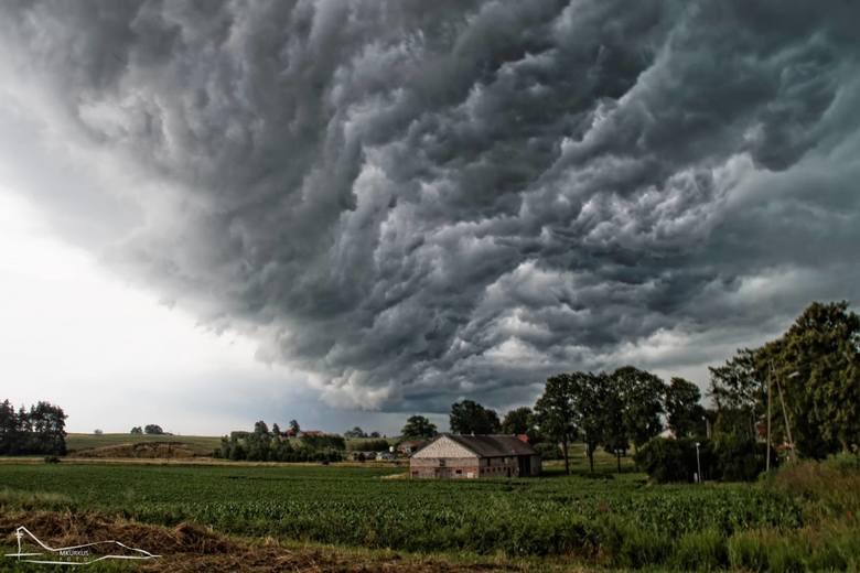 Ulewy i burze nad Pomorzem 29.06.2017