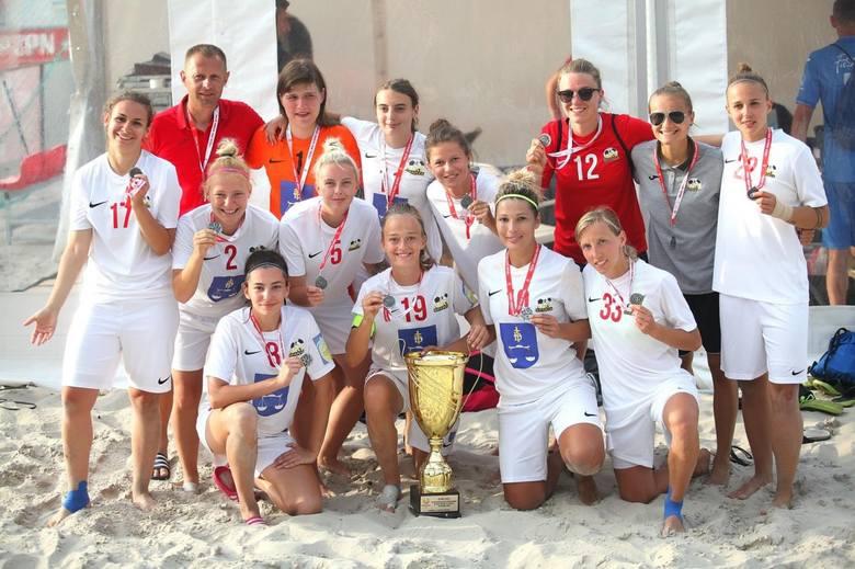 Sparta Daleszyce Mistrz Polski w beach soccerze