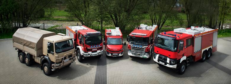 SZCZĘŚNIAK Pojazdy Specjalne  - dla straży pożarnej i innych służb mundurowych